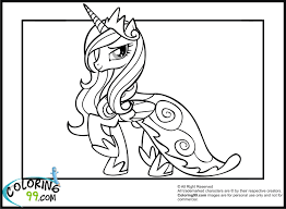 Small Picture Mlp Princess Coloring Pages Coloring Coloring Pages