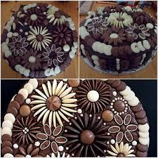 Small Picture Chocolate Button Cake Decorating Ideas DIY Cozy Home
