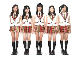 Japaneses teens in short skirts