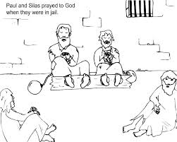 And Saul Becomes Paul Coloring Pages Prison Coloring Pages And The