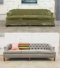 makeover furniture. 67 Furniture Makeovers That\u0027ll Totally Inspire You: Couch Makeover Via Retro Den