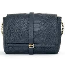 handbags classy navy blue leather women bag ripani italy in dubai