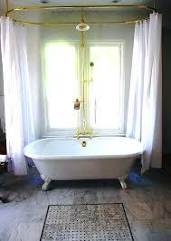clawfoot tub shower head tub shower head best tub shower ideas on tub with shower curtain
