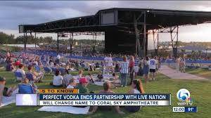 Coral Sky Amphitheatre Virtual Seating Chart Perfect Vodka Amphitheatre Is Changing Its Name As The Venue