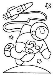 Profissões Desenhos De Astronauta Para Colorir Baú De Artes