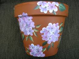 painted plant pots delectable accessories for garden decoration using hand painted plant pots amusing accessories for painted plant pots