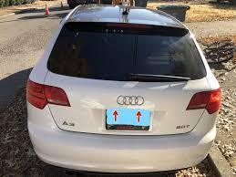 Fix License Plate Light 2008 2010 Audi A3 Sportback License Plate Lights Replacement