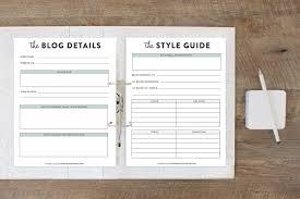 The Blog Planner, Printable Planner | Georgia Lou Studios