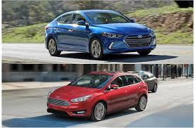 Hyundai Elantra, Ford Focus  I