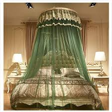 Amazon.com: XIAO&Z Bed Canopy Round Dome Mosquito Net Princess Bed ...