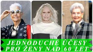 Jednoduché účesy Pro ženy Nad 60 Let