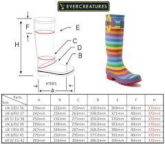 Hunter Shoe Size Chart Sizing Charts Wonderful Wellies
