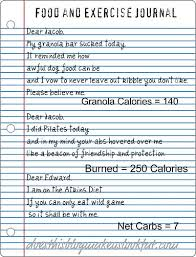Fun Food Journal Does This Blog Make Us Look Fat