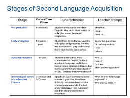 Acquiring English As Second Language At College Paper Example