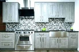 Gray Tile Grey Black And Geometric White Monochrome Wood Kitchen Gorgeous Kitchen Cabinet Backsplash