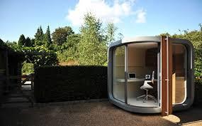 backyard office pod. OfficePOD: A Prefab Cubicle For Your Backyard Office Pod Inhabitat