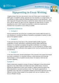 make it flow discourse markers signposting when writing essays