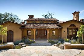 interior style homes warm hacienda courtyard home with in addition to from mexican house design plans