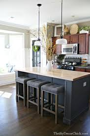 decor kitchen kitchen: a modern kitchen with a homey feel at thrifty decor chick