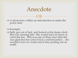 is an anecdote in an essay what is an anecdote in an essay