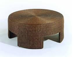 new round ottoman coffee table rattan coffee tables uk
