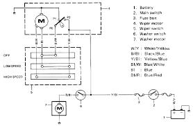 suzuki jimny sj413 windshield wiper circuit and schematic diagram suzuki sj413 jimny windshield wiper wiring