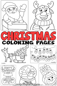 Including frozen and the polar express coloring pages that your kids will love to color and make for gifts or cards. Christmas Coloring Pages Easy Peasy And Fun