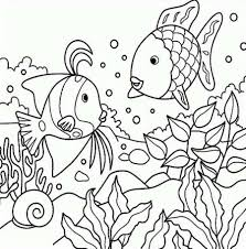 Small Picture Fish Coloring Pages Fish Printable Coloring Pages Tryonshorts To