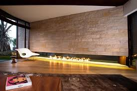 linear gas fireplace. Image Of: Modern Linear Gas Fireplace L
