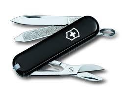 "<b>Нож</b>-брелок <b>Victorinox</b> ""<b>Classic</b> SD"", цвет: черный, 7 функций, 5,8 ..."