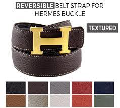 reversible belt strap replacement for hermes buckle belt kits la petite croisette