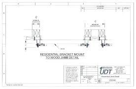 Garage Door Framing Diagram Musicaovivo Info