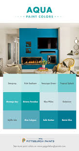 Paint Colors Turquoise 53 Best Aqua Turquoise And Teal Paint Colors Images On Pinterest