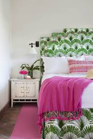 Pink Living Room Set Bold Green And Pink Living Bedroom Interiors By Color Haammss