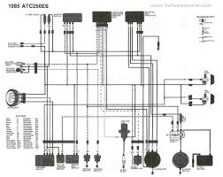 3 wheeler world tech help honda wiring diagrams atc250es