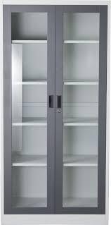 bookcase with glass door key lock entry hedgeapple locking doors black bookshelf thick floating shelves metal