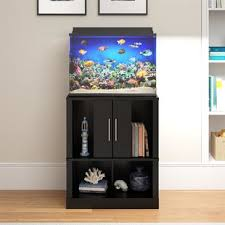 Fishtank furniture Unusual Quickview Flyingwithkidsco Fish Tanks Aquariums Youll Love Wayfair
