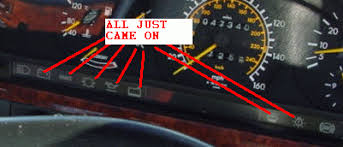 7 warning lights just came on