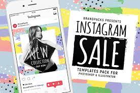 Poster Design Instagram Instagram Sale Templates In Psd Ai Vector Brandpacks