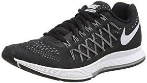 nike running shoes black air. nike air zoom pegasus 32, women\u0027s running shoes, black (black/white- shoes