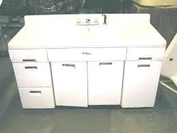 vintage metal sink cabinet used kitchen sink base cabinet kitchen sink base cabinet large size of