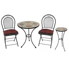 best folding bistro table and chairs set metal cafe table and chairs winda 7 furniture