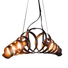 Industrial Pendant Light Vintage Metal Chandelier Retro Ceiling Light Hanging Lighting Lamp Industrial Style Ceiling Bar Lights