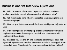business intelligence analyst interview questions interview questions for business analyst military bralicious co