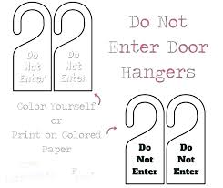 Free Door Hangers Templates Blank Door Hanger Template Luxury For Word Free Printable Do