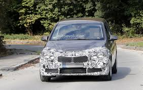 2018 bmw active tourer. delighful 2018 spyshots 2018 bmw 2 series gran tourer facelift has hexagonal headlights   in bmw active tourer b