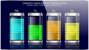 How To Create Battery Vector Data Chart Graph In Microsoft Office Powerpoint Ppt