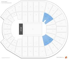 Simmons Bank Arena Seating Guide Rateyourseats Com