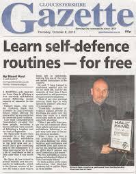 A Newspaper Article Newspaper Articles Ilyokwan Black Belt Academy
