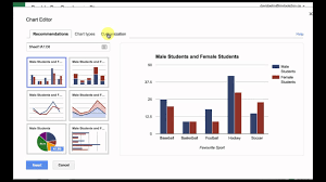 Google Sheets Charts Tutorial Create A Double Bar Graph With Google Sheets